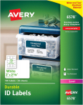 Avery Durable White Cover Up ID Labels for Laser Printers, $28.53 (REG $72.75)
