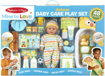Melissa & Doug Mine to Love Deluxe Baby Care Play Set $50.99 (REG $99.99)