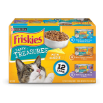 Purina Friskies Tasty Treasures Adult Wet Cat Food Variety Pack $6.13 (REG $19.94)