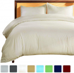 Linen Mercado 800TC Ultra-Soft, Luxury, 100% Natural Cotton, 3 Piece $18.99 (REG $153.34)