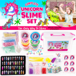 White Tails Unicorn Slime Kit for Girls and Boys 12 Containers of Clear Slime$9.04 (REG $19.99)