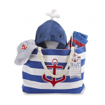 Baby Aspen Fun in The Sun 4 Piece Nautical Gift Set with Canvas Tote $34.88 (REG $65.00)