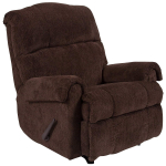 Contemporary Kelly Chocolate Super Soft Microfiber Rocker Recliner $260.99 (REG $566.00)