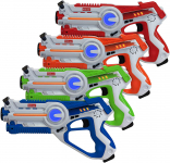 Kidzlane Infrared Laser Tag : Game Mega Pack – Set of 4 Players $37.99 (REG $99.99)