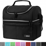 Insulated Dual Compartment Lunch Bag for Men, Women $17.49 (REG $40.99)