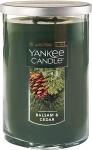 Yankee Candle Large 2-Wick Tumbler Candle, Balsam & Cedar$11.90 (REG $29.49)
