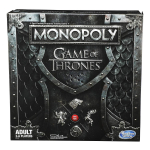 CYBER MONDAY DEAL!!! Monopoly Game of Thrones Board Game for Adults $13.99 (REG $29.99)