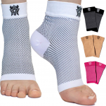LIMITED TIME DEAL!!! Compression Foot Sleeves with Arch Support $6.37 (REG $14.99)