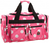 Rockland Luggage 19 Inch Tote Bag, Pink Dots, One Size $16.78 (REG $30.00)