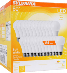 SYLVANIA General Lighting 74765 A19 Efficient 8.5W Soft White $21.62 (REG $39.99)