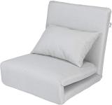 Loungie Relaxie Beige Linen Flipchair – 5-Position Adjustable Back$146.00 (REG $542.50)