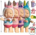 Unicorn Mini Baby Dollhouse Dolls$11.85 (REG $21.99)