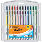 BIC Intensity Fashion Permanent Markers, Ultra Fine Point $12.11 (REG $24.49)