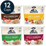 LIMITED TIME DEAL!!! Quaker Instant Oatmeal Express Cups, 4 Flavor Variety Pack$9.71 (REG $14.99)
