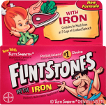 Flintstones Vitamins Chewable Multivitamins with Iron, 60 Count $5.10 (REG $8.49)