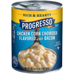 Progresso Gluten Free Rich & Hearty Chicken Corn Chowder Soup $1.69 (REG $3.02)