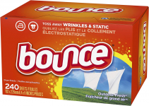 Bounce Fabric Softener and Dryer Sheets, Outdoor Fresh, 240 Count $5.83 (REG $12.56)