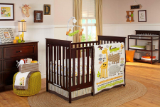 NoJo Zoobilee Crib Bedding Set, 4 Count $89.95 (REG 	$179.99)