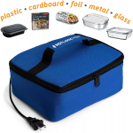 Hot Logic 16801060004 Food Warming Tote, Lunch, Blue $29.95 (REG $49.99)