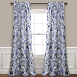 Lush Decor Cynthia Jacobean Darkening Window Curtains Panel Set for $55.67 (REG $135.00)