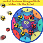 Fun Spider Dart Board Game with 6 Balls Using Hook-and-Loop Fasteners$15.90 (REG $29.99)