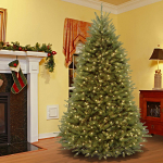 7.5 Foot Dunhill Fir Tree with 700 Dual LED Lights and 9 Function Footswitch $290.99 (REG $659.99)