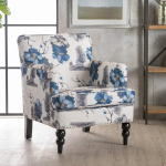 Christopher Knight Home Boaz Arm Chair, Floral Print $117.42 (REG $236.60)