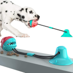 Update Dog Rope Ball Pull Toy w/ Suction Cup, Teeth Cleaning Dog Chew Tug Toys, $14.90 (REG $25.90)