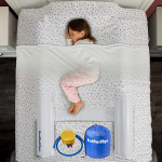 [2 Pack] Inflatable Toddler Bed Bumpers with Safety $19.00 (REG $40.00)