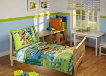 Disney Hugglemonster 4 Piece Toddler Bedding Set $19.99 (REG $49.99)
