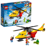 LEGO City Ambulance Helicopter 60179 Building Kit (190 Piece) $11.99 (REG $19.99)