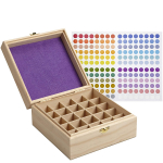 Soligt 25 Slot Extra High Essential Oil Storage $10.99 (REG $25.99)