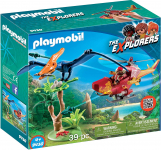 Playmobil Adventure Copter with Pterodactyl Building Set $7.49 (REG $24.99)