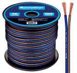 14 Gauge AWG 100ft Speaker Wire True Spec and Soft Touch Cable $15.99 (REG $29.99)