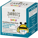 Zarbee's Naturals Baby Soothing Chest Rub with Eucalyptus, Lavender & Beeswax, 1.5 Ounce $5.82 (REG $7.49)
