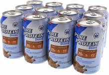 LIMITED TIME DEAL!!! Pure Protein Ready to Drink Shakes, High Protein Frosty Chocolate $18.29 (REG $27.40)