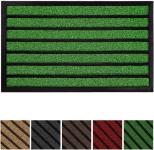 Durable Striped Door Mat (50% Off using COUPON)