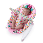 Disney Baby Minnie Mouse Perfect Vibrating Bouncer, Pink $15.54 (REG $29.99)
