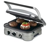 Cuisinart 5-in-1 Griddler, Silver, Black Dials $69.95 (REG $184.99)