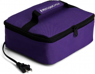 HotLogic 16801056-PUR Food Warming Tote, Lunch, Purple $29.95 (REG $49.99)