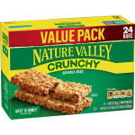 Nature Valley Granola Bars, Crunchy Oats 'n Honey, 17.88 oz $4.49 (REG $7.47)