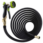 Flexible Expanding Hose with Metal 8 Function Spray Nozzle $31.90 (REG $89.98)
