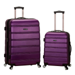 Rockland Luggage 20 Inch 28 Inch 2 Piece Expandable Spinner Set $78.81 (REG $330.00)