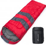 MalloMe Camping Sleeping Bag – 3 Season Warm & Cool Weather$39.99 (REG $97.99)