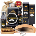LIGHTNING DEAL!!! Beard Kit for Men Grooming & Care W/Beard Wash/Shampoo $17.77 (REG $29.91)