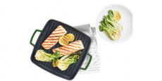 11″ Enameled Cast Iron Grill Pan Only $29.99 (Reg $100) at Macy's!