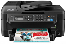 All-in-One Wireless Color Printer with Scanner, Copier & Fax $59.99 (REG $99.99)
