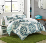 Chic Home Ibiza 3 Piece Duvet Cover Set Bedding with Decorative Shams $30.00 (REG $70.00)