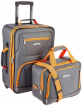 Rockland Luggage 2 Piece Set, Charcoal, One Size $28.05 (REG $79.99)
