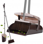 YaYbYc Broom & Dustpan Set w/ Lid Super Long Handle Lobby Broom w/ $21.99 (REG $29.99)